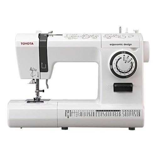 Máquina de coser Toyota SP200 CEV blanca y negra 220V