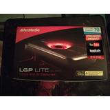 Capturadora Avermedia Live Gamer Portable Lgp Lite
