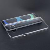 Crystal Clear Teléfono Posterior Plástico Duro Funda Para