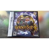 Juego De Nintendo Ds,golden Sun Dark Dawn