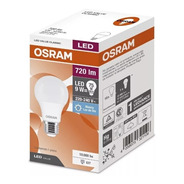 Pack X20 Lampara Led 9w = 75w Osram Luz Fría- Elect. Avella.
