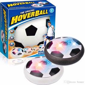 Bola Eletrônica Flutuante Hover Ball C/ Led Air Power Soccer