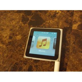 Apple Ipod Nano 6g Touch Silver 8g Como Nuevo