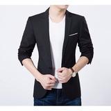 Blazer Slim Fit Luxo Casual Masculino Super Promoção
