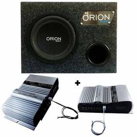 Caixa Sub De 8 Modulo Tsd 300.1 Orion Power Bass Para Grave