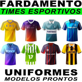 Estampas Fardamento Esportivos Sublimação Uniformes Artes f39ca653dfb6c