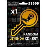 [ Steam Key ] Random Leyenda Cd - Key Valor: $9,500+