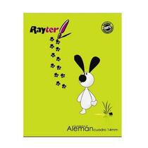Rayter Cuaderno Rayter Profesional Cuadro Aleman C/100 Hjs