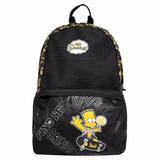 Mochila Escolar Masculina Juvenil Simpsons Menino Sk8 940f04