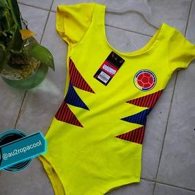 Body Dama Talla Única Selección Colombia