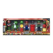 Super Mario Run Set De Figuras De Accion