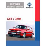 Diagramas Eléctricos Volkswagen Golf / Jetta- Envio Gratis