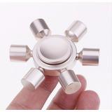 Fridget Spinner Giratorio Antiestres Aluminio Silver