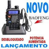 Rádio Comunicador Ht Baofeng Dual Band Uv-5r Talkabout Walk