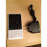 Asha 210.5 Color Blanco Telcel Con Envio Gratis