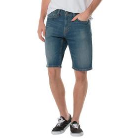 Bermuda Jeans Levis Masculino 54 Athletic Hemmed Médio