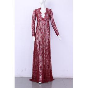 Vestido Saída Praia Renda Longa Importada Plus Size 11cores