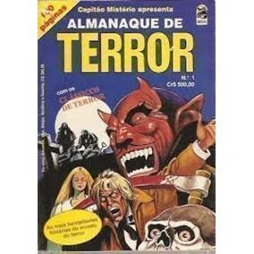 Capitão Mistério Apresenta Almanaque De Terror Nº 1 Nd