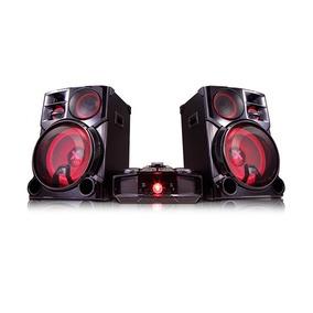 Minicomponente Lg De 4800w Con Luces Y Usb Cm9960 Garantia