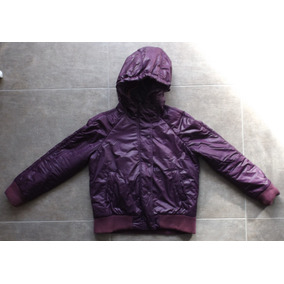 Campera Impermeable Color Violeta Dama