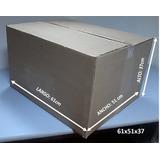 Cajas De Cartón Para Embalaje 61x51x37
