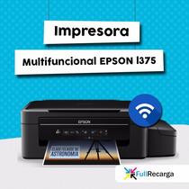 Impresora Multifuncional Con Sistema Continuo Epson L375