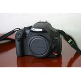 Canon T1i, Cuerpo Y Accesorios, Impecable