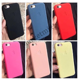 Capinha Capa Case Silicone Apple Iphone 5 Se 6 6s 7 8 X Plus