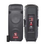 Bafle Bocinas Amplificado 2x15 9000w Kaiser Usb Bluetooth