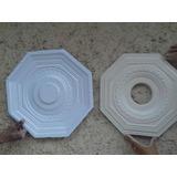 Fôrma De Plástico Para Florão De Gesso/ Concreto