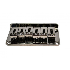 Ponte Fixa Para Guitarra Strato Stander Cosmo Black Bn003