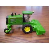 Miniatura De Trator Ertl 1:64 John Deere R450 Com Implemento