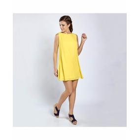 Vestido Basic Tunica Falda Circular Vuelo Moda Nacional