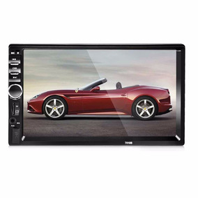 Autoestereo Pantalla Bluetooth Touch Doble 2 Din Usb Aux Sd