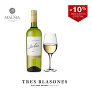 Malma P15 Chardonnay - Caja X 6 - Envio Gratis!!!