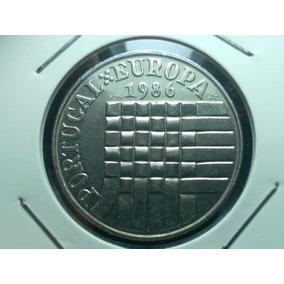 Portugal- Antiga Moeda 25 Escudos 1986 União Europeia #1002