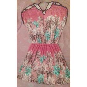 Lindo Vestido De Viscose Florido Plus Size Xg Gg