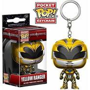 Llavero Funko Pocket Pop Keychain Yellow Ranger