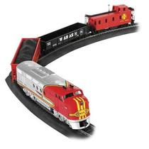 Tren Electrico Ho Santa Fe Bachmann Set Completo !