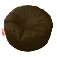 Sillon Puff Circular Mediano Chocolate Soporta Hasta 85kg