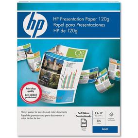 Papel Hp (semi-satinado) Presentation Paper (láser) Q6541a