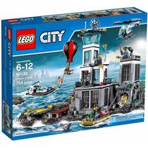 Lego 60130 - City Police - Quartel Ilha Da Prisão - 754 Peça