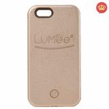 Capinha P/ Iphone 6 Plus 6s Plus Lumee Led Case Selfie Top