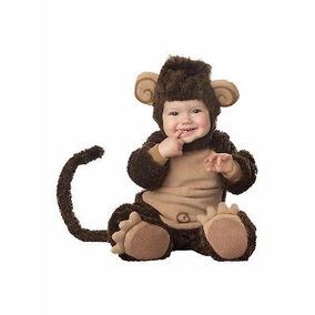 Disfraz Halloween Bebes Chango Traje Monito Disfraces
