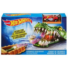 Hot Wheels Pista Criaturas Mordida De Crocodilo Dwk94 - Matt