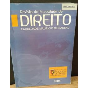 Revista Da Faculdade De Direito Maurício De Nassau 2006