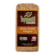 Arroz Cateto Integral Orgânico Topanotti 1kg Kit Com 5un.