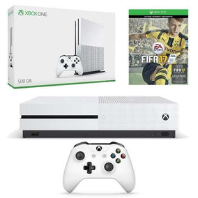 Console Xbox One S 500gb Bundle Fifa 17 C 2 Controles.