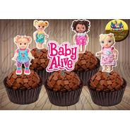 Baby Alive 50 Topper  Para Doces