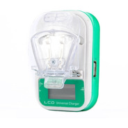 Cargador Externo Lcd Baterias Celulares Camara Ditron 3a Usb